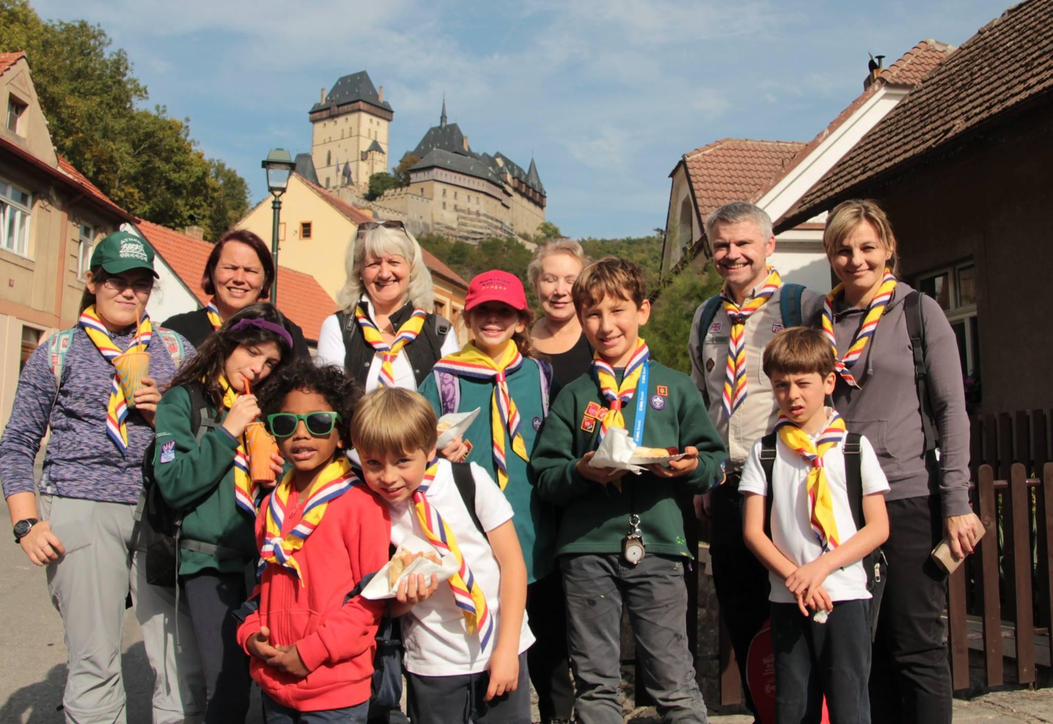 Prague Scouts promotes adventure.