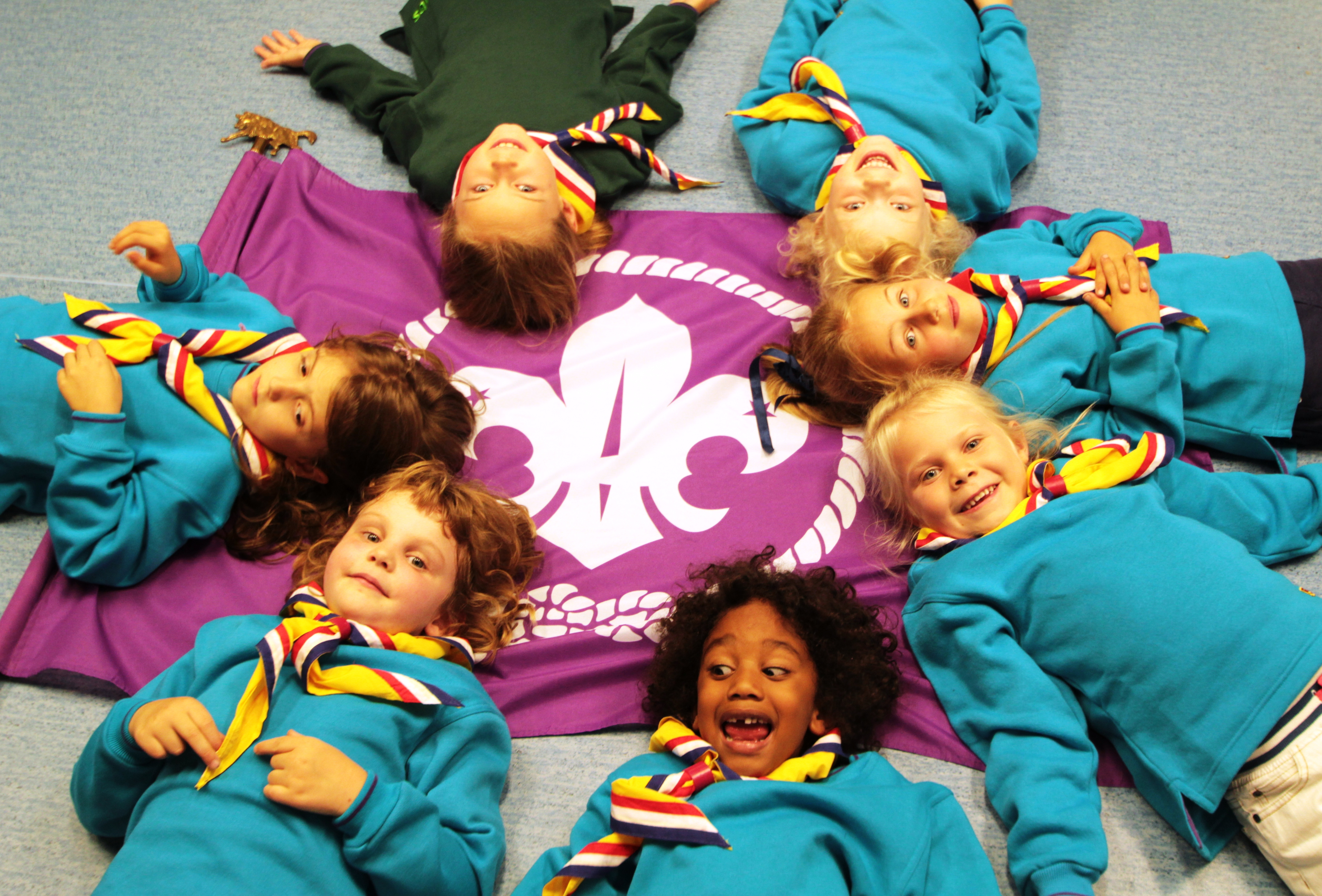 Prague Scouts is for young people aged 6 to 25 years.