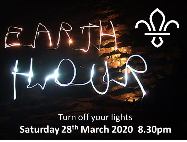 Earth Hour – 28th March 2020